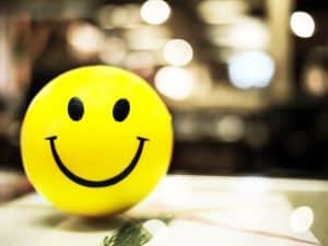 Smile to the people you meet, you will find that smiling is contagious. :)