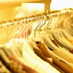Shirts Hanging on Clothes Rack --- Image by © Royalty-Free/Corbis