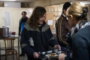 Les restaurants sociaux de la SSVP accueillent les personnes en précarité pour un repas chaud.