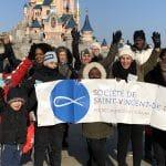 La SSVP accompagne les enfants en difficultés à Disney Paris