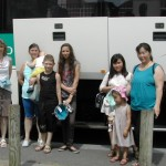 Depart de familles en vacances
