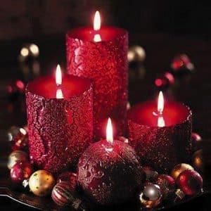bougies-noel