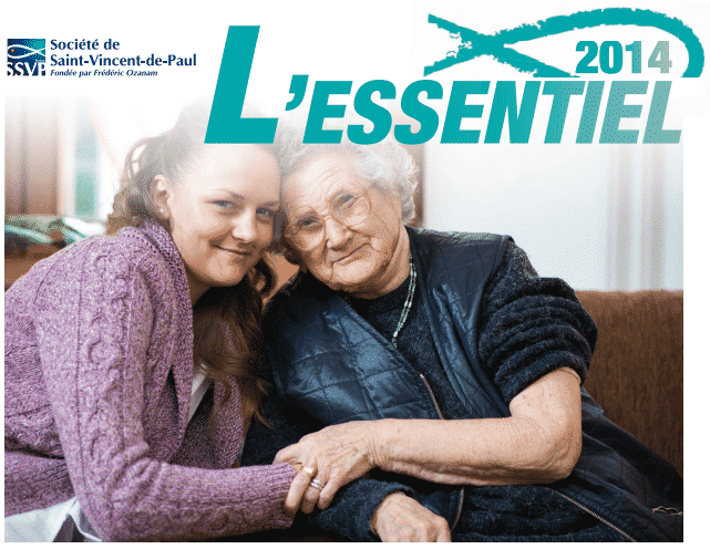 Chiffres clés 2014 de la Société de Saint-Vincent-de-Paul