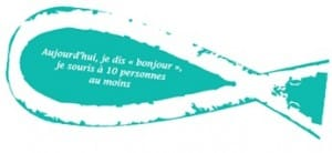 poisson defi charite turquoise