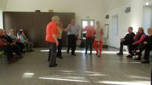 Au son de l'accordéon nous avons dansé nos danses bretonnes