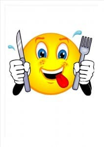 clipart repas comic sous jpeg