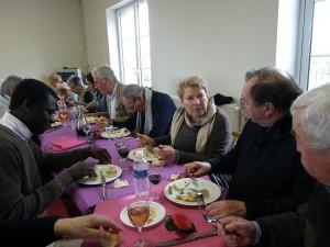 misionnaire africain en terre bretonne , présidente attentive a
