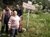 arrivée à Folleville