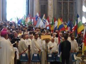 La procession des drapeaux à Saint-Paul-hors-les-murs