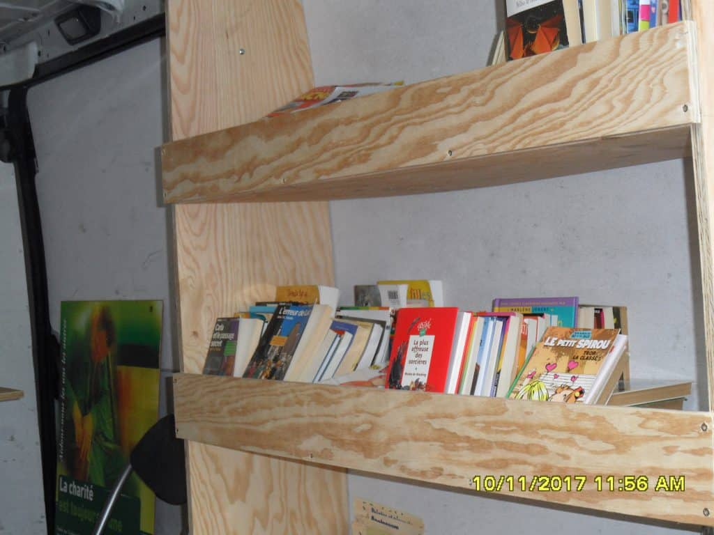 bibliothèque itinérante