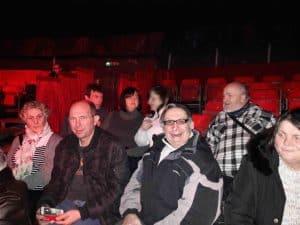 Cirque Auxerre SSVP bénévoles et personnes accompagnées