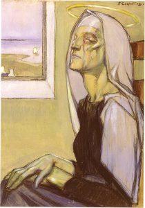 la vierge âgée
